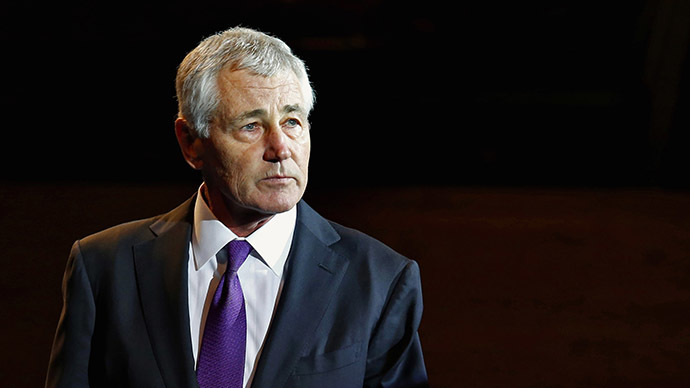 Outgoing U.S. Defense Secretary Chuck Hagel. (Reuters/Yuri Gripas)