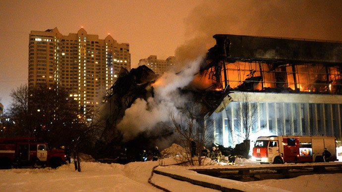 'Like Chernobyl': Millions of unique texts feared lost in Moscow library fire (PHOTOS)