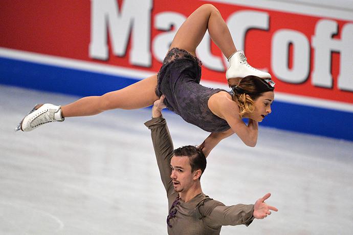 Ksenia Stolbova and Fedor Klimov (RIA Novosti / Vladimir Pesnya)