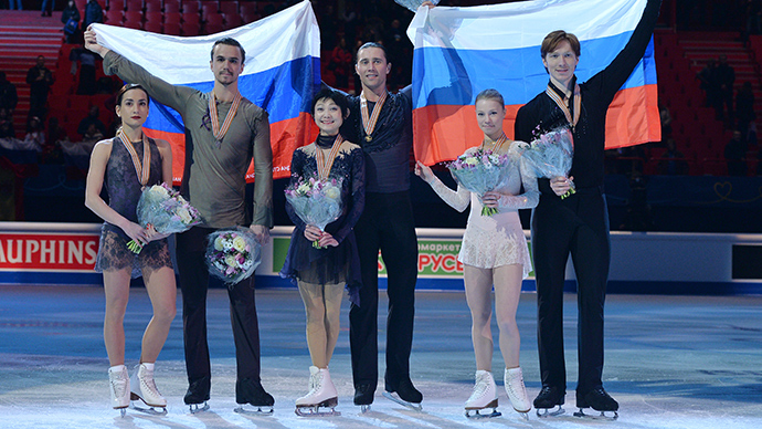 Russia dominates figure skating Euros, wins 9 medals out of 12