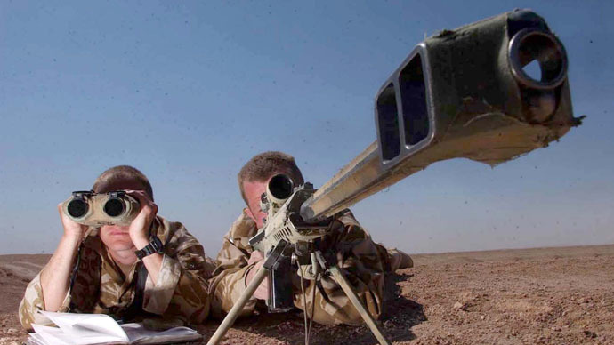 ​Hit Brit: Royal Marine tagged as world's deadliest sniper