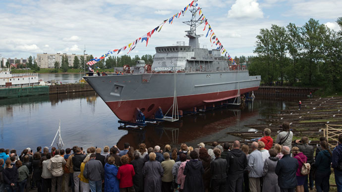 Huge Russian fiberglass minesweeper to join Navy in November