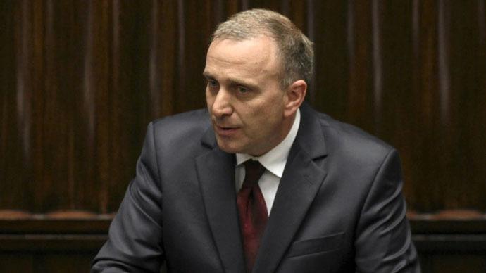 Polish Foreign Minister Grzegorz Schetyna (Reuters/Agencja Gazeta/Slawomir Kaminski)