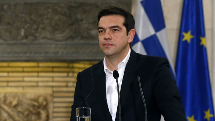 Greece not negotiating financial aid from Russia 'right now' - PM