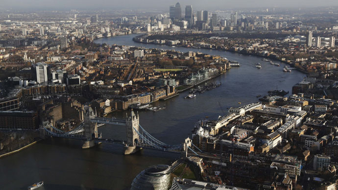 ​London's bursting! Capital's population hits record 8.6mn