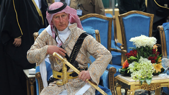 ​'I won't be used to peddle UK arms in Middle East' – Prince Charles