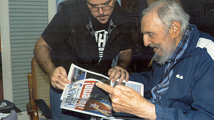Fresh Castro photos published in Cuba after 6-month hiatus