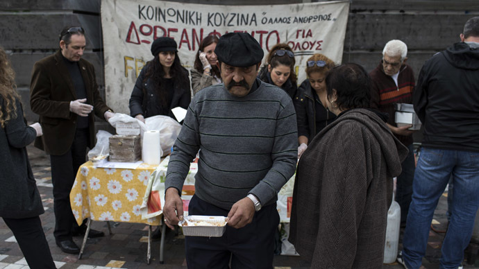 Austerity to blame for 35% suicide surge in Greece – research