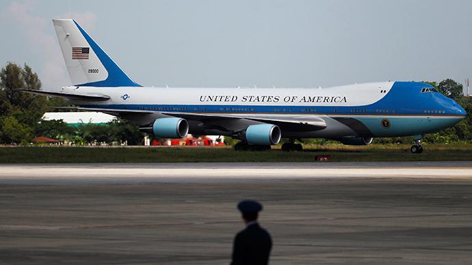 Air Force One plane (Reuters / Soe Zeya Tun)