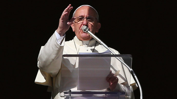 Pope Francis (Reuters / Alessandro Bianchi)