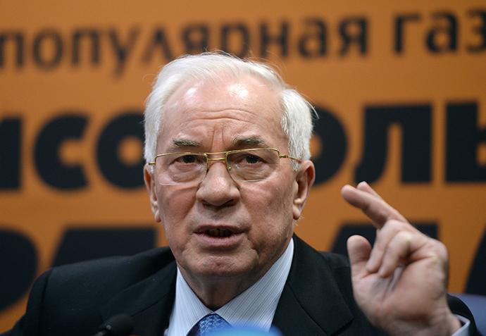 Ukraine's former prime minister Mykola Azarov (RIA Novosti / Valery Melnikov)