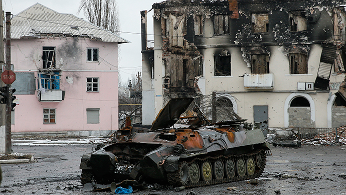 E. Ukraine officials accuse Kiev of deadly provocation plan
