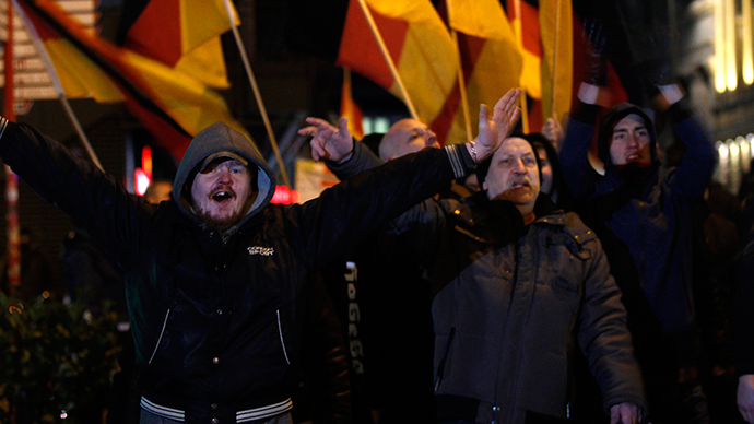 Pegida plan to march in Britain against 'Islamization of the West' condemned by activists