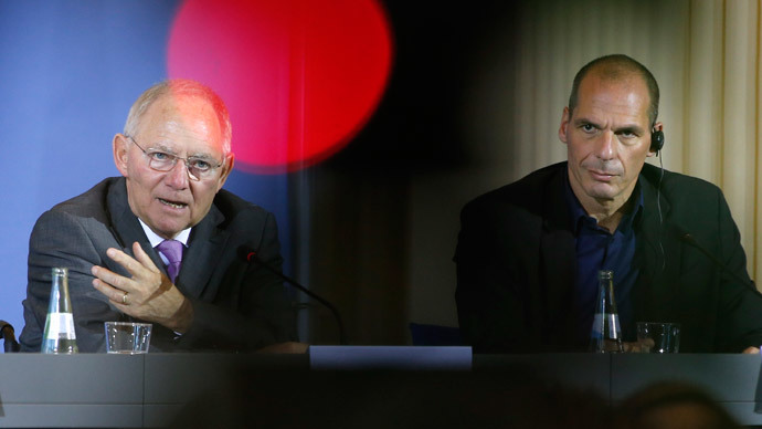 ​Greek, German finance ministers 'didn't even agree to disagree'