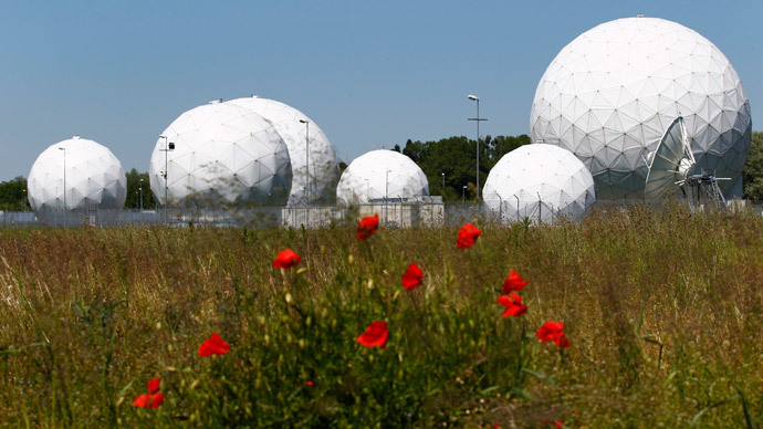 The former monitoring base of the National Security Agency (NSA), which belongs to the German Federal Intelligence Agency (BND), is seen in Bad Aibling, south of Munich.(Reuters / Michaela Rehle)