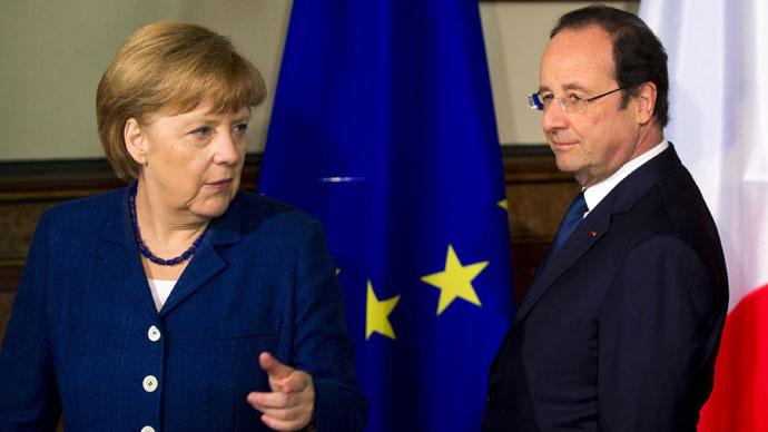 Putin peace plan is basis of Hollande-Merkel initiative on Ukraine – reports