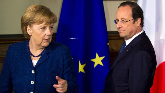 Putin peace plan is basis of Hollande-Merkel initiative on Ukraine – reports