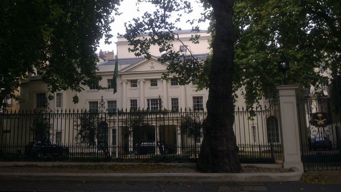 Embassy of Saudi Arabia in London (Photo from wikipedia.org)