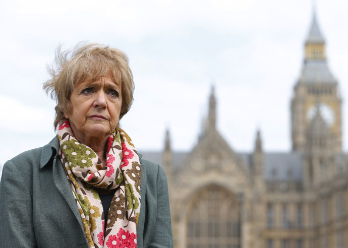 Chair of the Public Accounts Committee Margaret Hodge (Reuters/Andrew Winning)