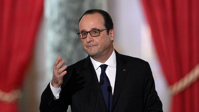 Hollande: If lasting Ukraine peace not found 'scenario is war'