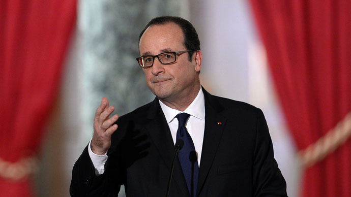 Hollande: If lasting Ukraine peace not found 'scenario is war'
