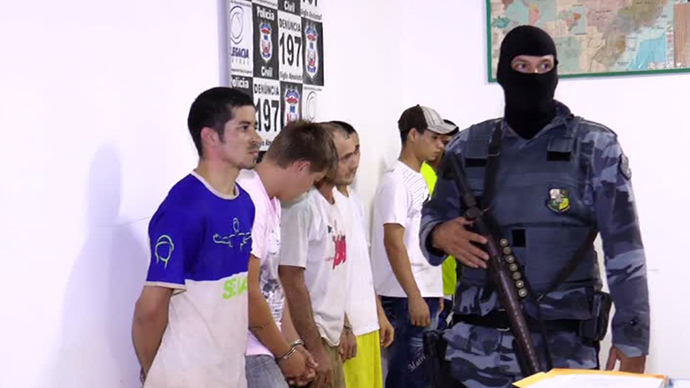 Prison breakout in Brazil after guards fall for fake 'orgy' plan (VIDEO)