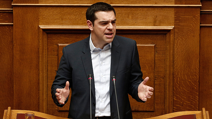 Greek PM says troika bailout failed, will not ask for extension