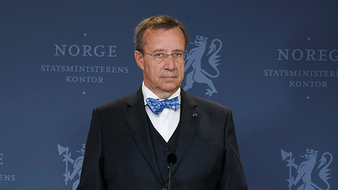 Estonian president cuts short Sky News talk on Russia after host gets his name wrong