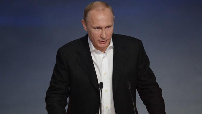 Putin: US' determination to dominate sparked Ukraine crisis
