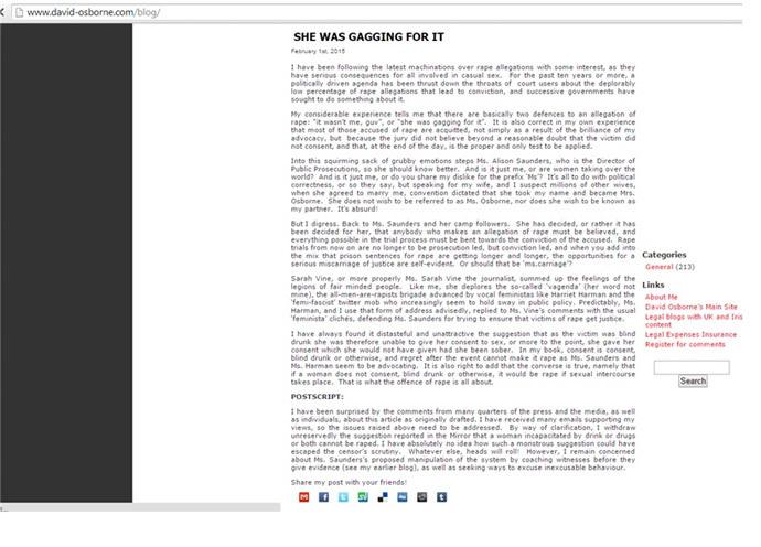 Screenshot from www.david-osborne.com