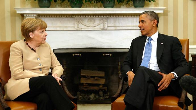 Mission improbable: Merkel visits US to sell Ukraine peace plan
