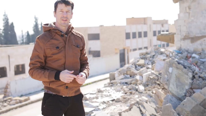 ISIS release new video of John Cantlie 'Inside Aleppo'