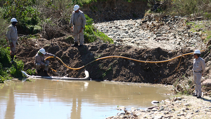 California water aquifers injected with waste 2,500 times, new rules proposed
