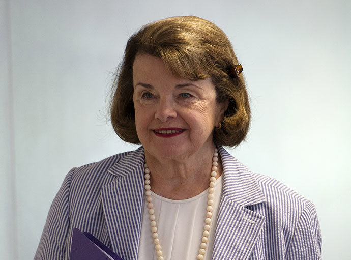 Senator Diane Feinstein (AFP Photo/Jim Watson)