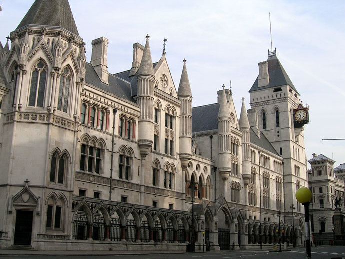 Royal Courts of Justice, London. (Photo from wikipedia.org)