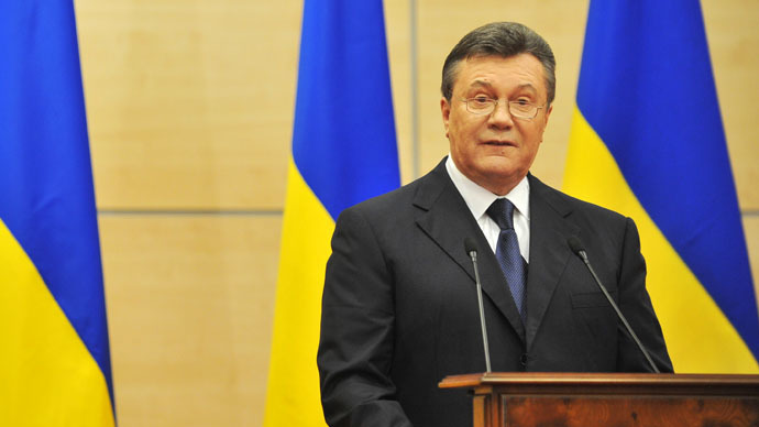 Chief Russian prosecutor promises not to hand over Ukrainian ex-president