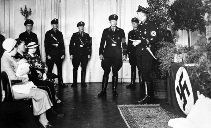 Christening of a Lebensborn child (Photo from wikipedia.org)