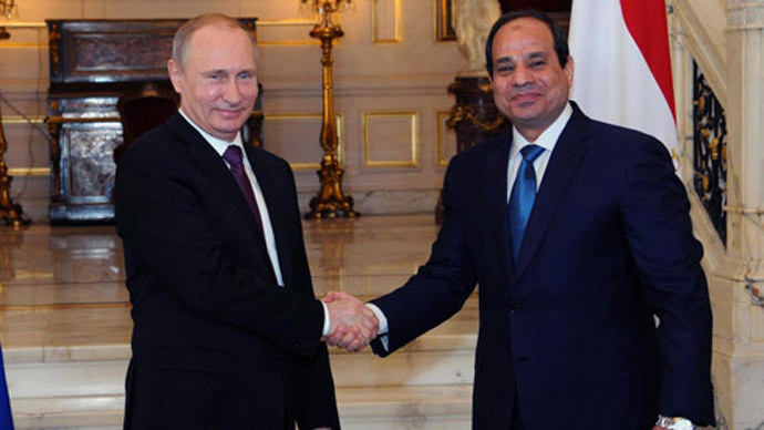 Russia to help Egypt build 'a whole new nuclear power industry' – Putin
