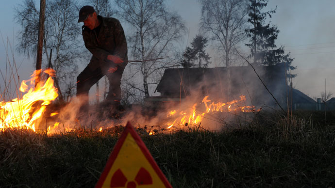 Wildfires to create second wave of radiation poisoning from Chernobyl