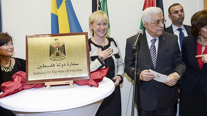 First Palestinian embassy in W. Europe opens in Sweden