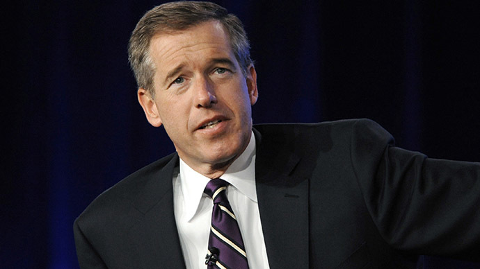 NBC's Brian Williams suspended 6 months for fake Iraq War story