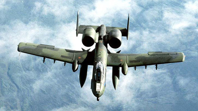 Pentagon deploys A-10 attack jets, 300 pilots to Germany amid Ukraine turmoil