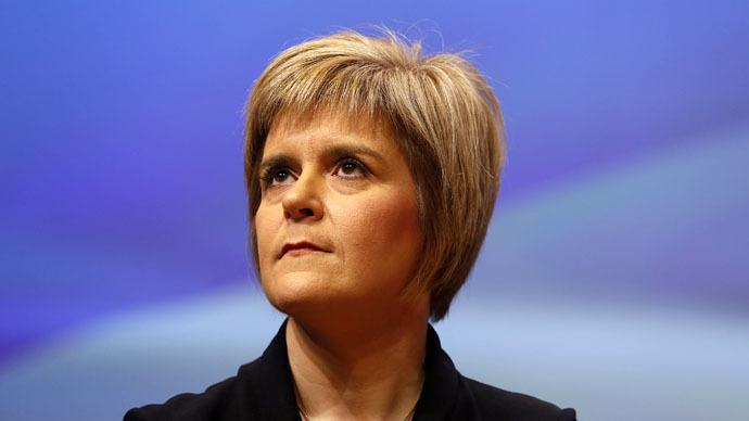 Scottish First Minister Sturgeon slams 'austerity economics'