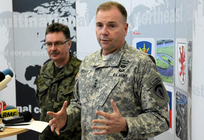 U.S. Army Europe commander Ben Hodges (Reuters/Agencja Gazeta)