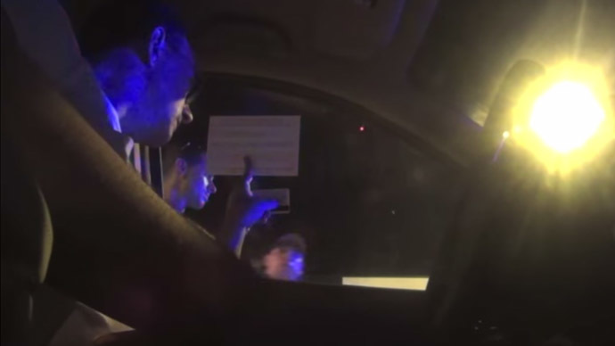 Silent treatment: Florida drivers at DUI checkpoints refuse to talk to cops (VIDEO)