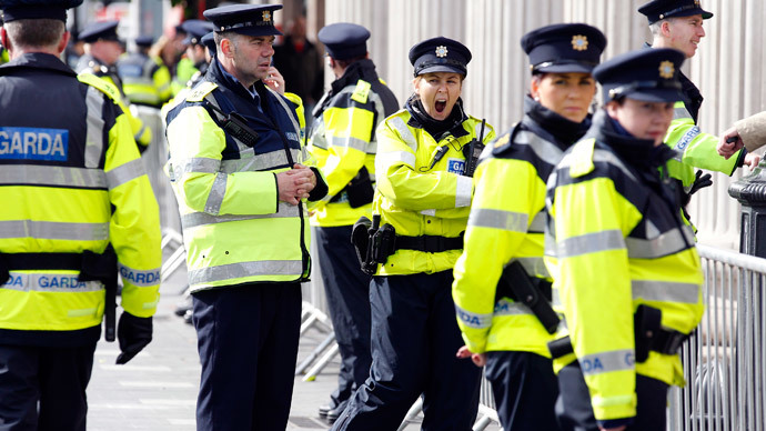 Irish govt fears global media coverage of 'political policing,' anti-austerity activists say