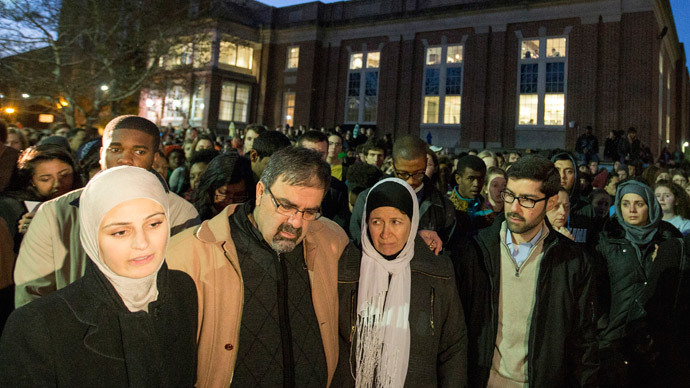 ​#MuslimLivesMatter: Protests over BBC's Chapel Hill murders 'silence'