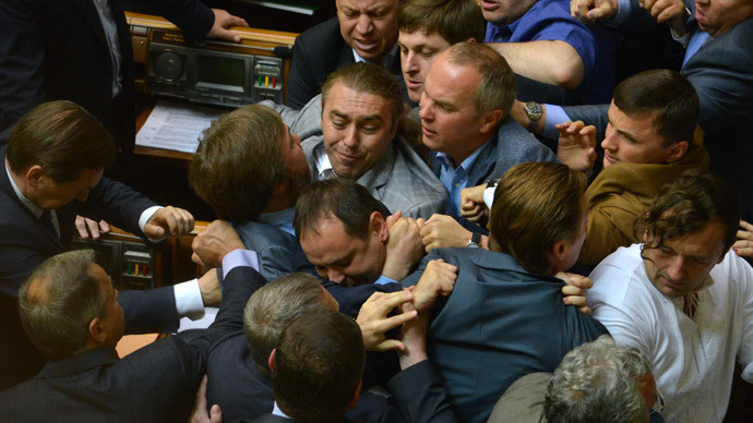 Fight club: 5 most spectacular brawls in Ukrainian parliament [VIDEO]