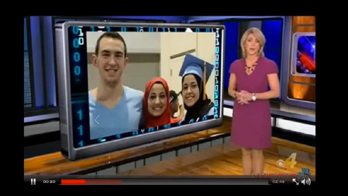 US TV show runs story on how to safely find parking in wake of Chapel Hill Muslim killings