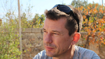 John Cantlie.(AFP Photo / Courtesy of the cantlie family)